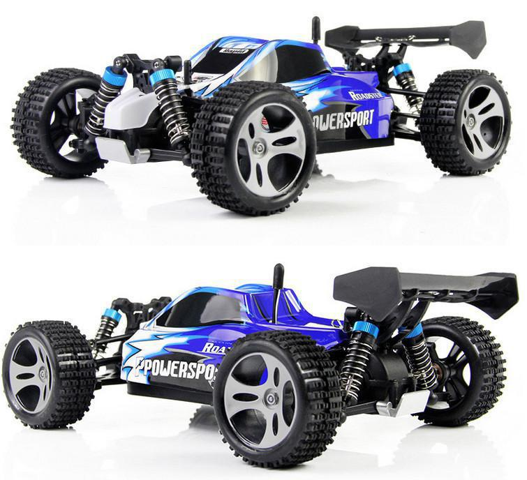 Wltoys A959 RC Car 1:18 2.4Gh Remote Control Cars 4WD Off Road RC Drift Car Buggy faster than L959 without Original Box mini rc car 1 28 2 4g off road remote control frequencies toy for wltoys k989 racing cars kid children gifts fj88