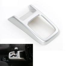 Для Suzuki Jimny 2007-2015 подкладке Шестерни коробка переключения передачи крышка отделка автомобиль-Стайлинг ABS Chrome украшение автомобиля стикеры Интимные аксессуары