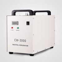 CW-3000 220V 110V Thermolysis Industrial Water Cooler Chiller for Laser Engraver Engraving Machines 60W/80W