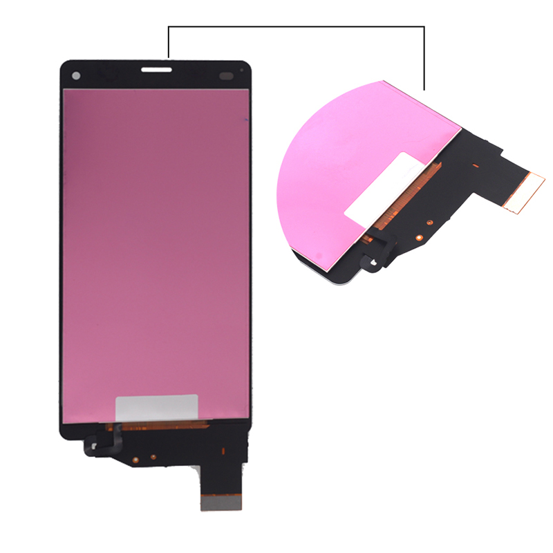 Image 5 - For Sony Xperia Z3 Compact D5803 D5833 LCD Monitor Digitizer Glass Panel Z3 Mini Components with Frame Phone Accessories+tool-in Mobile Phone LCD Screens from Cellphones & Telecommunications