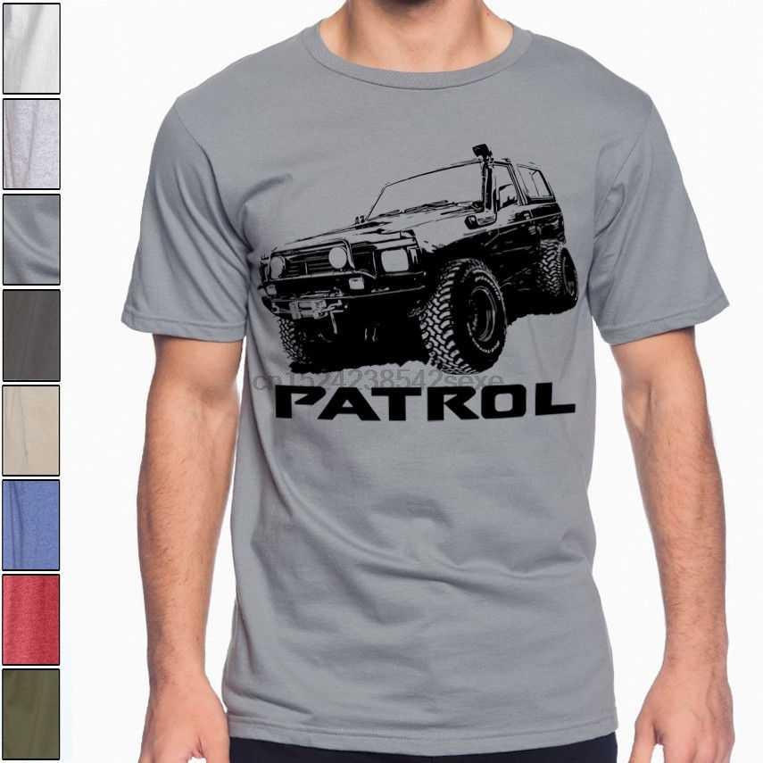 Бездорожье Nissan Patrol Премиум Мягкая хлопковая Футболка многоцветная S-3XL