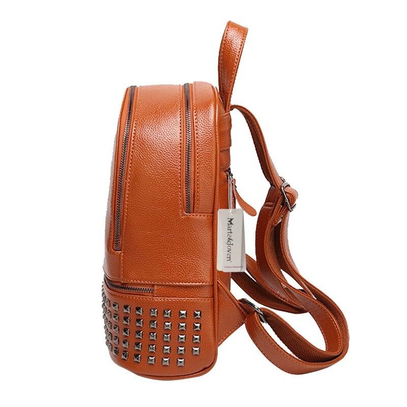 mochila de couro genuíno 4 Closure Tipo : Zipper