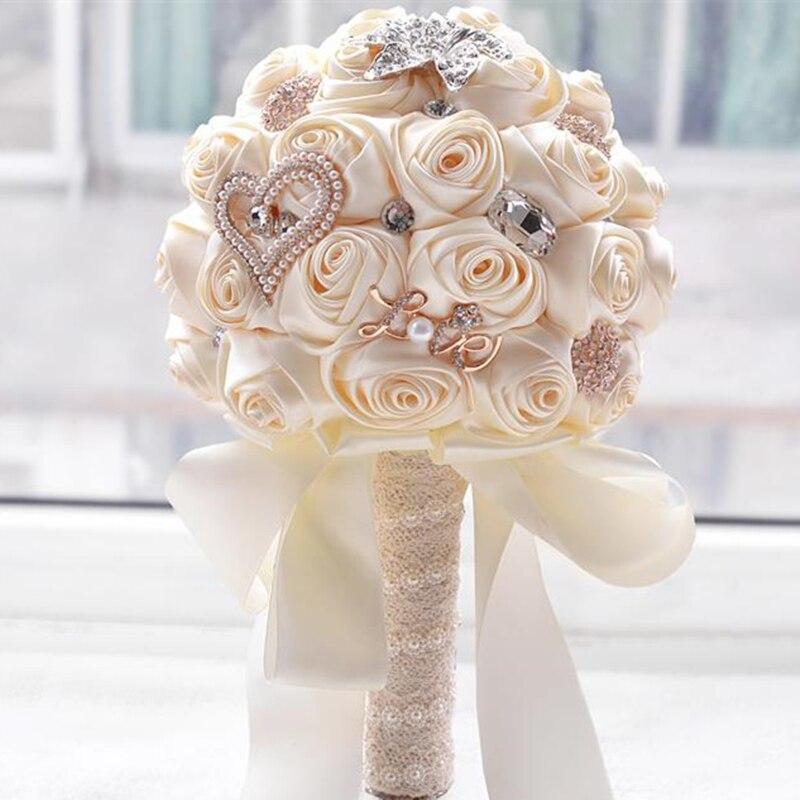 Как сделать свадебный букет для невесты, цветов доставка