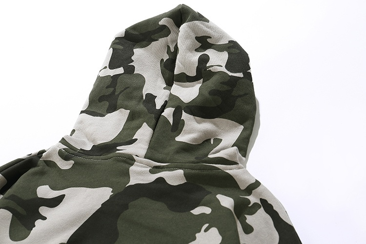 Camouflage Patch Hoodies 12