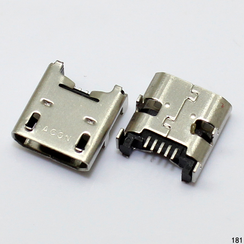 10pcs/lot Micro usb connector for ASUS A3 A10 Chargint