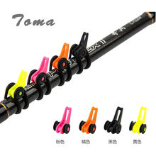 TOMA 3Bag/lot Hook Device Fishing Accessories Mix Colors 14 mm Lure Rod Special Hang The Bait Trap Tool Fishing gear(China)