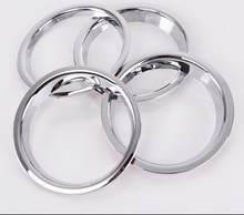 Para nissan qashqai dualis 2016-2019 carro círculo decorativo áudio capa alto-falante anel 4 pces por conjunto de acessórios de automóvel