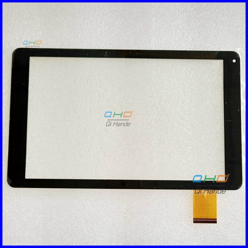 High Quality Black New For 10.1'' inch XN1629 Capacitive Touch Screen Digitizer Sensor Replacement Parts Free Shipping for sq pg1033 fpc a1 dj 10 1 inch new touch screen panel digitizer sensor repair replacement parts free shipping