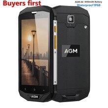 AGM A8 5.0 «Qualcomm MSM8916 IP68 Водонепроницаемый Android 7.0 4 г мобильный телефон 3 ГБ/4 ГБ Оперативная память 32 ГБ/64 ГБ Встроенная память 13.0MP смартфон