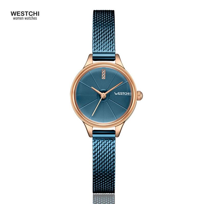 2018 New Cool Mesh Steel Belt Women Watches Top Brand Luxury Waterproof Analog Simple Design Bracelet Ladies Watch Female Clock 2