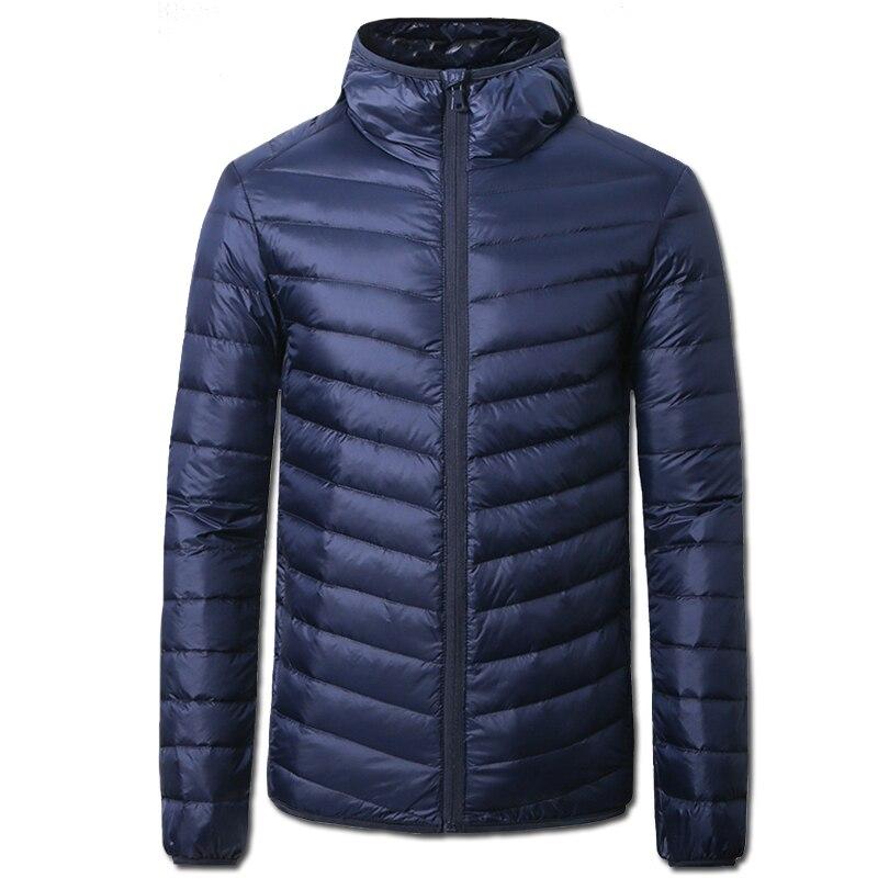 2016 Erkekler Kış Ördek Aşağı Sıcak Ceketler Coats Paltolar Jaqueta Masculina erkek Rahat Moda Slim Fit Pamuk Mont Ceketler erkek
