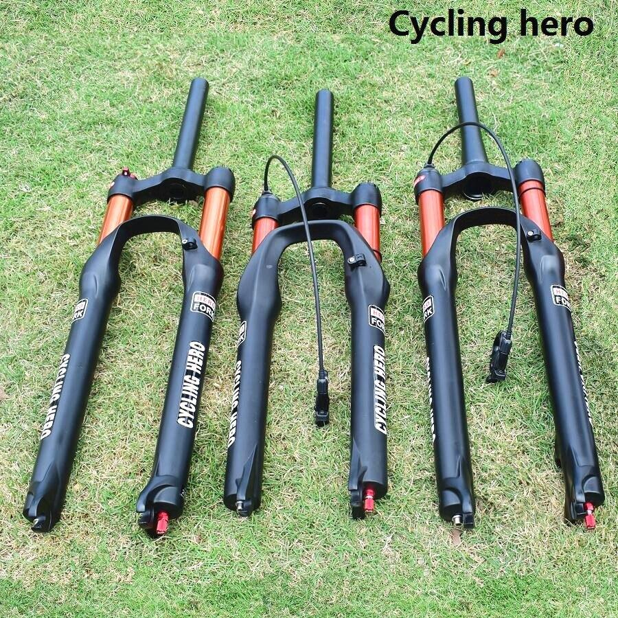 1-1/2 1-1/8 100-120mm Corsa Mountain Bike Sospensione Pneumatica della Forcella Impatto Spina Rimbalzo di Regolazione 26 27.5 29 pollice Sopra VOLPE SR SUNTOUR