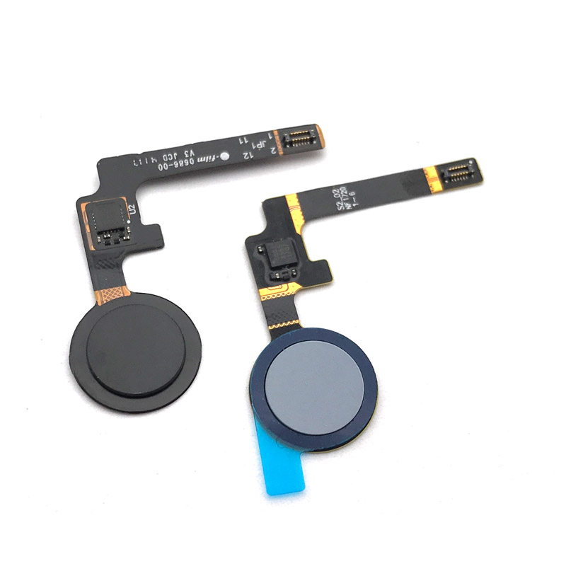 New Tested Home Button For HTC Google Pixel 2 Finger Print Touch ID Sensor Flex Cable Ribbon Replacement Parts