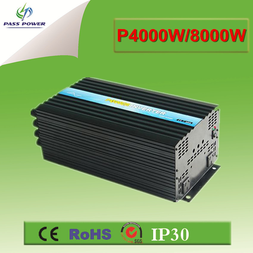DC <font><b>12V</b></font> <font><b>24V</b></font> 48V <font><b>to</b></font> AC 110V 220V 4000w High Power DC/AC inverter Pure Sine Wave Invesor image