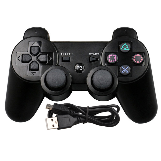 USB Wired Gamepad Joystick For Sony PS3 Playstation 3 Controller For PS3 console For Dualshock for Playstation 3 Joystick Joypad lnop usb wired for ps3 controller gamepad sony playstation 3 dualshock 3 for sony gamepad joystick joypad for pc play station 3