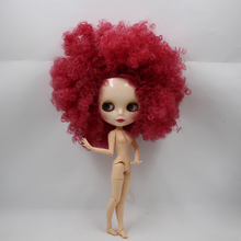 Factory Neo Blythe Doll Red Wild Hair Jointed Body 30cm