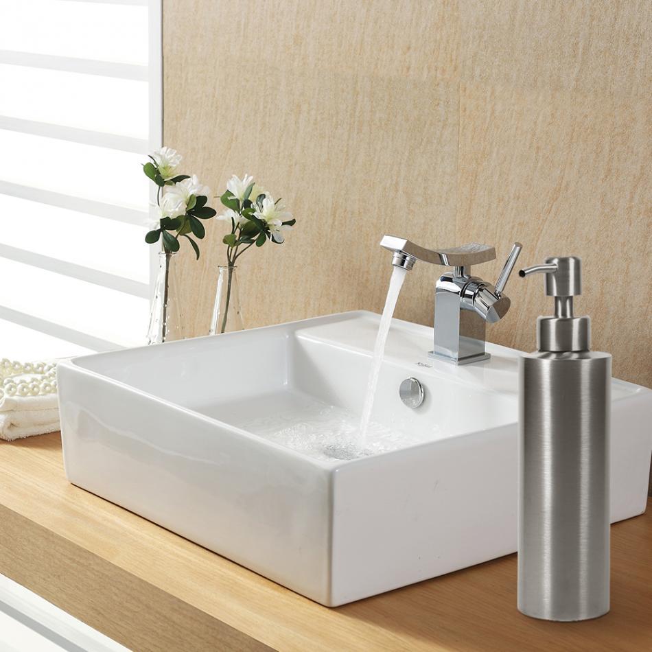 Sink Soap Dispenser 350ml Stainless Steel Soap Dispenser Restaurant ...