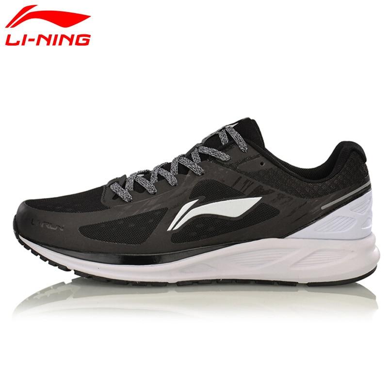 Li-Ning Men's Running Shoes Cushioning Breathable LiNing Light Weight Sneakers Sports Shoes Li Ning ARBM031 li ning 2017 women s summer running shoes lining breathable sneakers woman s cushioning sports gym shoe li ning arhl034 for girl