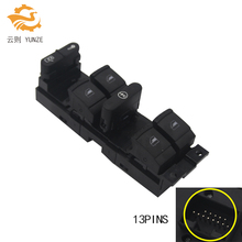 7M6959857 7M6 959 857A 3M2114A132CAW ELECTRIC MASTER WINDOW SWITCH MASTER FOR FORD GALAXY VW SHARAN SEAT ALHAMBRA 13 PINS