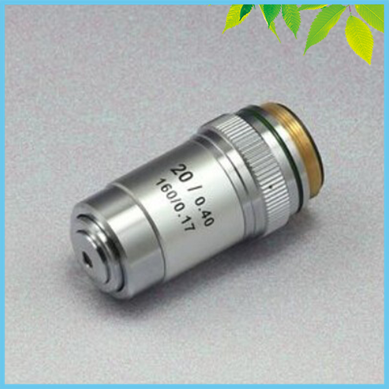 Conjugate Distance 195 Universal Metal 20X Achromatic Objective Lens for Biological Microscope