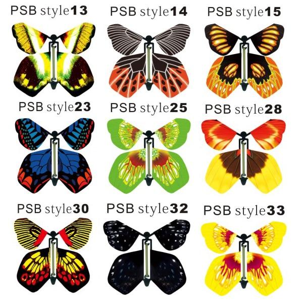 Kupu-kupu kertas ajaib untuk undangan pernikahan, pengiriman gratis - Hari libur dan pesta - Foto 5