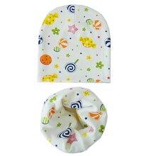 Sombrero del bebé infantil algodón tapas bebé bufanda gorros amor corazón  impresión primavera otoño niños sombrero 65647a79d7e