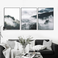 Forest Poster Nordic Decoration Canvas Painting Art Cuadros Decoracion Posters And Prints Wall Pictures For Living