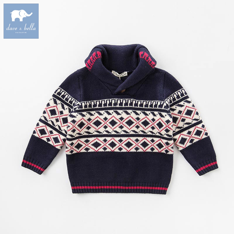DB5993 dave bella autumn infant baby boys fashion pullover sweater toddler children knitted Sweater baby topsDB5993 dave bella autumn infant baby boys fashion pullover sweater toddler children knitted Sweater baby tops