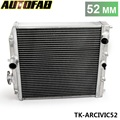 AUTOFAB-Peso Leve Car Racing Aluminum Radiator 3Row Para Honda Civic EK EG DEl Sol Manual de 92-00 52 MM Núcleo TK-ARCIVIC52