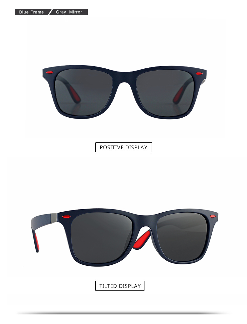 ASUOP 2019 new square polarized men`s sunglasses UV400 fashion ladies glasses classic brand designer sports driving sunglasses (14)