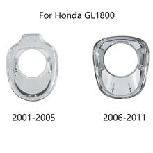 Motorcycle Chrome Ignition Key Accent Fairing For Honda Goldwing GL1800 2001-2005 2006-2011 new digital music cd mp3 changer player case for honda goldwing gl1800 2001 2002 2003 2004 2005 2006 07 08 09 10 2011 accessory