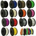 CTC 3D Филамент PLA/ABS Филамент 1,75 многоцветные пластиковые катушки Филамент 1,75 3D принтер Филамент impressora 3D филаменто