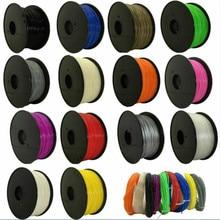 CTC 3D filament PLA/ABS filament 1.75 Multi-colors  plastic spools filament 1.75 3D printer filament impressora 3D filamento