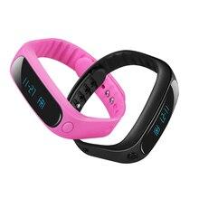 High quality low price Smartband E02 Health fitness tracker Sport Bracelet Waterproof Wristband 4.0 Bluetooth PK mi band