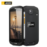 AGM A8 IP68 Waterproof Smartphone 5.0 Inch 3GB RAM 32GB ROM Quad Core Android 7.1 13.0MP 4050mAh 4G Mobile Cell Phone NFC OTG
