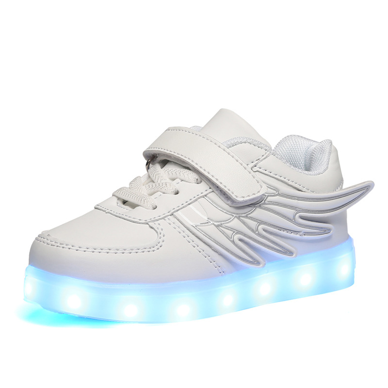 Newest Children Shoes Light Led luminous Shoes Boys Girls USB Charging Sport Shoes Casual Led Shoes