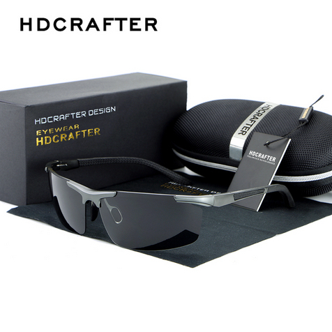 a9d2925bfb HDCRAFTER Men Polarized Sunglasses Men Night Driving Glasses Driver Driving  Mirror Versatile Night Vision Sun Goggles 88530-in Sunglasses from Men s ...