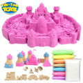 100g/bag Kinetic Dynamic Educational Sand clay Amazing DIY Indoor Magic Playing Sand Children Toys Space Sand Brinqued Educativo