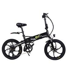 Бесплатная доставка 20 дюймов электрический велосипед 48V10AH литиевая батарея скрытая в рамке 350 Вт высокая скорость двигателя складной электрический велосипед ЕС нет налога