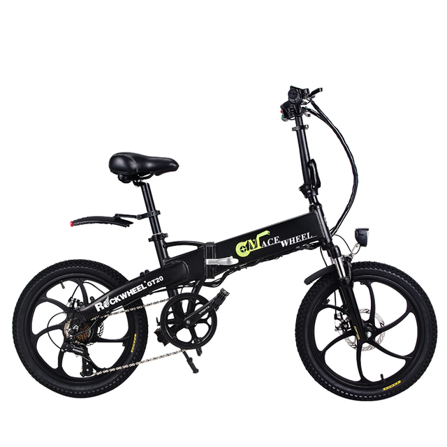 Free Shipping 20inch Electric Bicycle 48v10ah Lithium Battery Hidden
