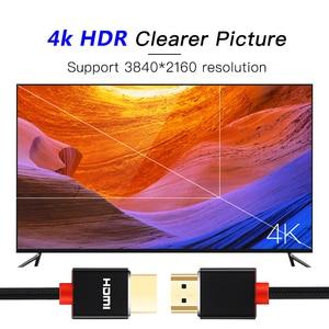 Image 2 - SL HDMI câble 2.0 3D HDR 4K 60Hz pour commutateur de répartiteur PS4 LED TV xbox projecteur ordinateur câble hdmi 1m 2m 3m 5m 10m 15m 20m