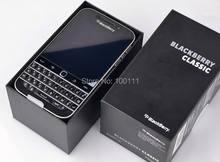 Original blackberry clássico q20 telefone celular desbloqueado duplo núcleo 2gb ram 16gb rom 8mp câmera teclado azerty, frete grátis