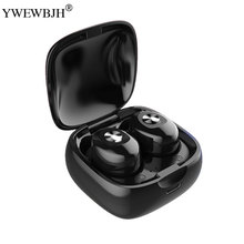 YWEWBJH HD Wireless Headphones Stereo Earbuds Bluetooth Earphone Earbuds With Mic Wireless Bluetooth Headset with Charging Box 2017 newest k6 business bluetooth earphone headphones stereo wireless handsfree car driver bluetooth headset with storage box