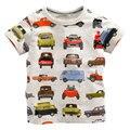 Crianças Grils meninos t-shirt das crianças da Roupa Do Bebê menino Verão camisa T Designer Dos Desenhos Animados de Algodão para 1-6A