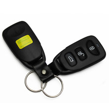3 Buttons Remote Control Car Key Case Shell Auto Key Case Shell For Hyundai With Logo Free Shipping(China)