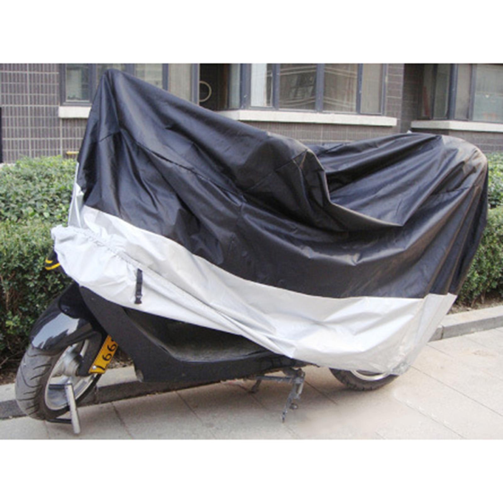 Big Size xxxl 265*105*125cm Motorcycle Covering Wa.