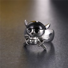 One Piece Luffy Zoro Ring