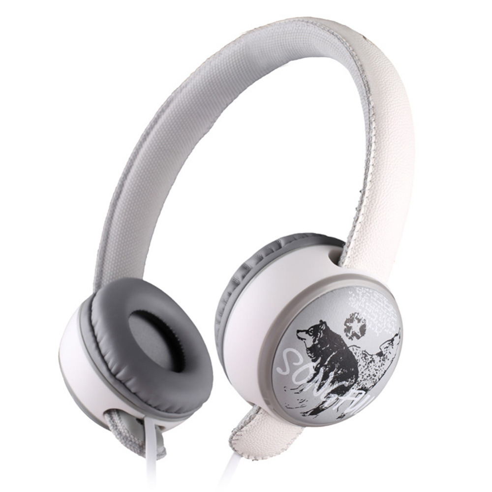 High Quality Detachable Wired Headphones Noise-canceling Bass Sound Headband Headset Earphone with Mic Song Switch Function heavy bass earphone 3 5mm g10 white original headphones noise canceling headset wired hifi earbuds with mic for phone mp3 mp4