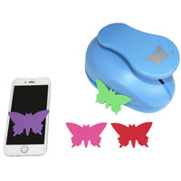 Super Large 3'' ( 68mm) butterfly Design DIY Craft Punch EVA Creative Embosser Punch Card making Stationery Kid Scrapbooking