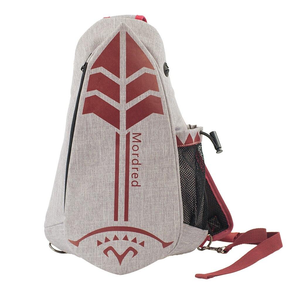 Mordred Fate grand order Mordred Crossbody bag Shoulder Bags Sports Joan of Arc backpack School  Bust backpack Cosplay bag 1